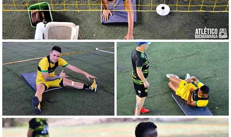 Atlético Bucaramanga vuelve a los entrenamientos